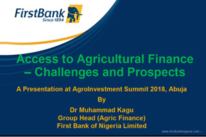 Day2-Dr.MuhammadKagu,FirstBank-Access-to-Agric-Finance