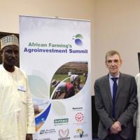 Alh Danladi Garaba, Martyn Diamond Black, Alh Mohammed Bello Abdulahi, Tohfan - Tractor Owners & Hiring Farm Assoc of Nigeria
