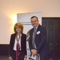 Vicky Pryce, economist, Centre for Economics and Business Research UK and Admir Imami, director of trade finance and supply chain finance, CDC Group PLC